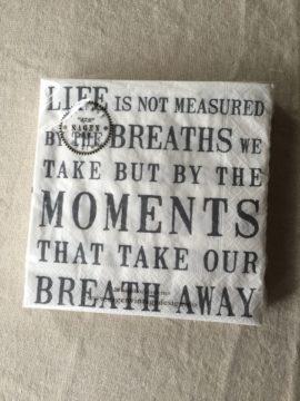 Serviette Life