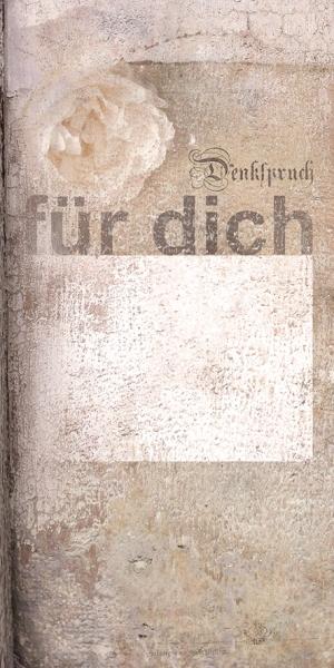 No 4977, Karte, Denkspruch
